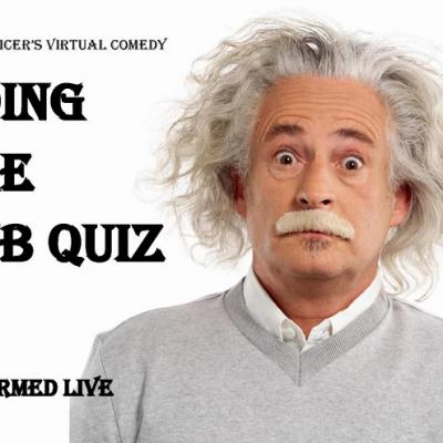 Doing The Pub Quiz – Northern Comedy Theatre Zoom Live