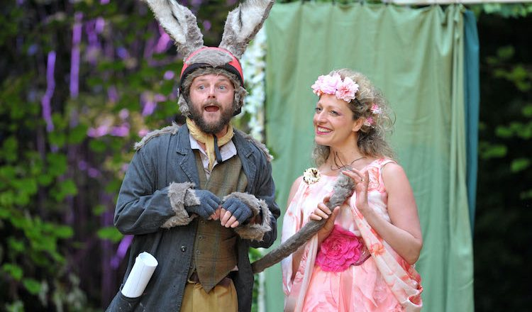 Bolton Octagon are back with a live online production of A Midsummer Night's Dream