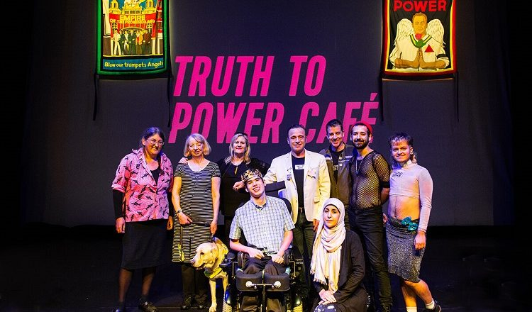 Truth To Power Café – Conway Hall, London