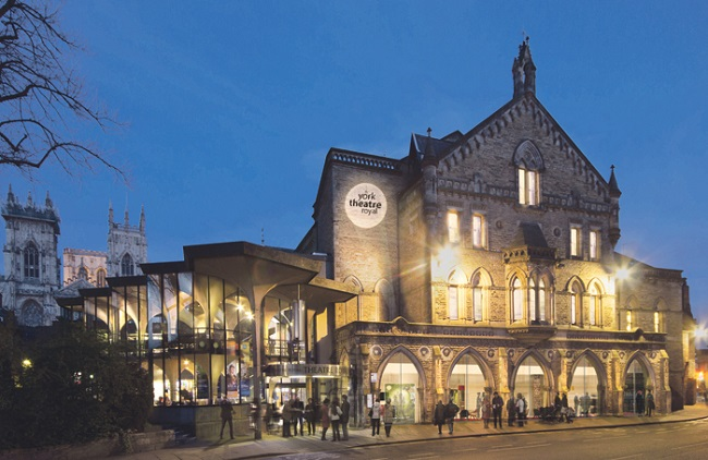 Love is in the air as York Theatre Royal re-opens on Valentine's Day